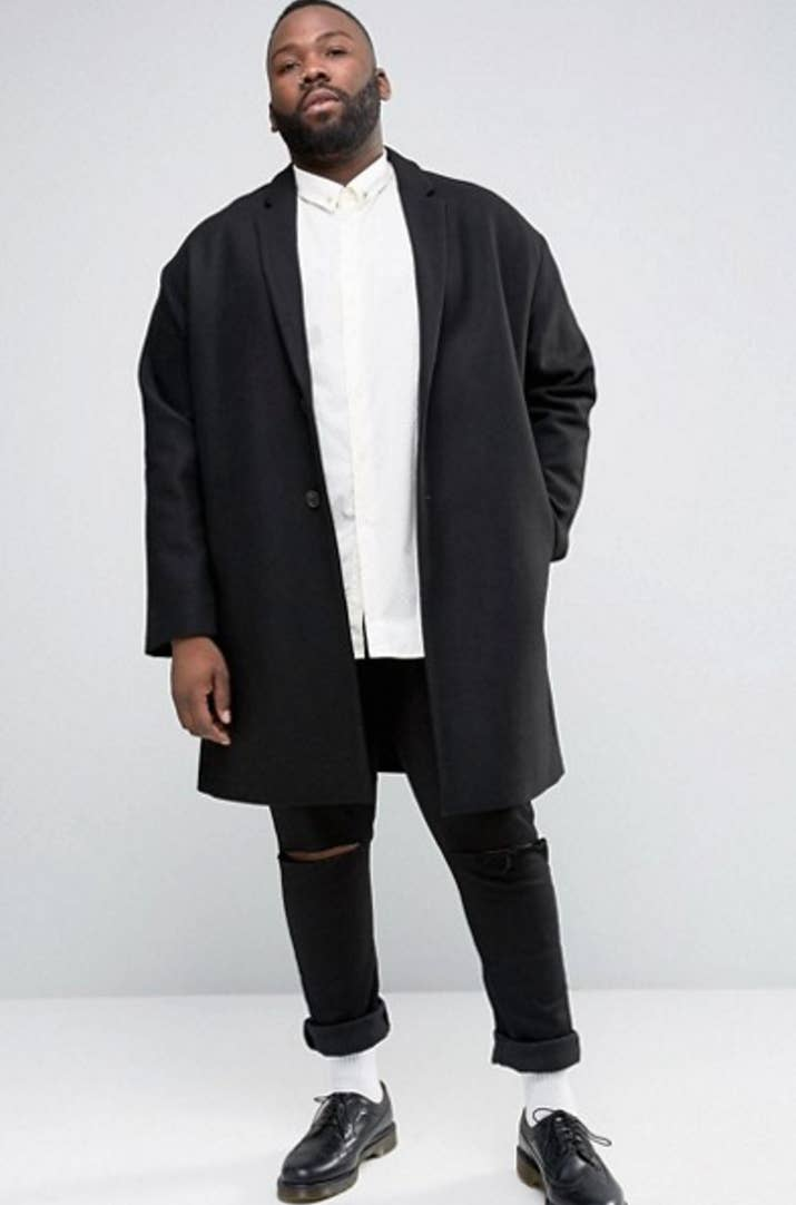 plus size guys tried asos new plus size line for men and totally