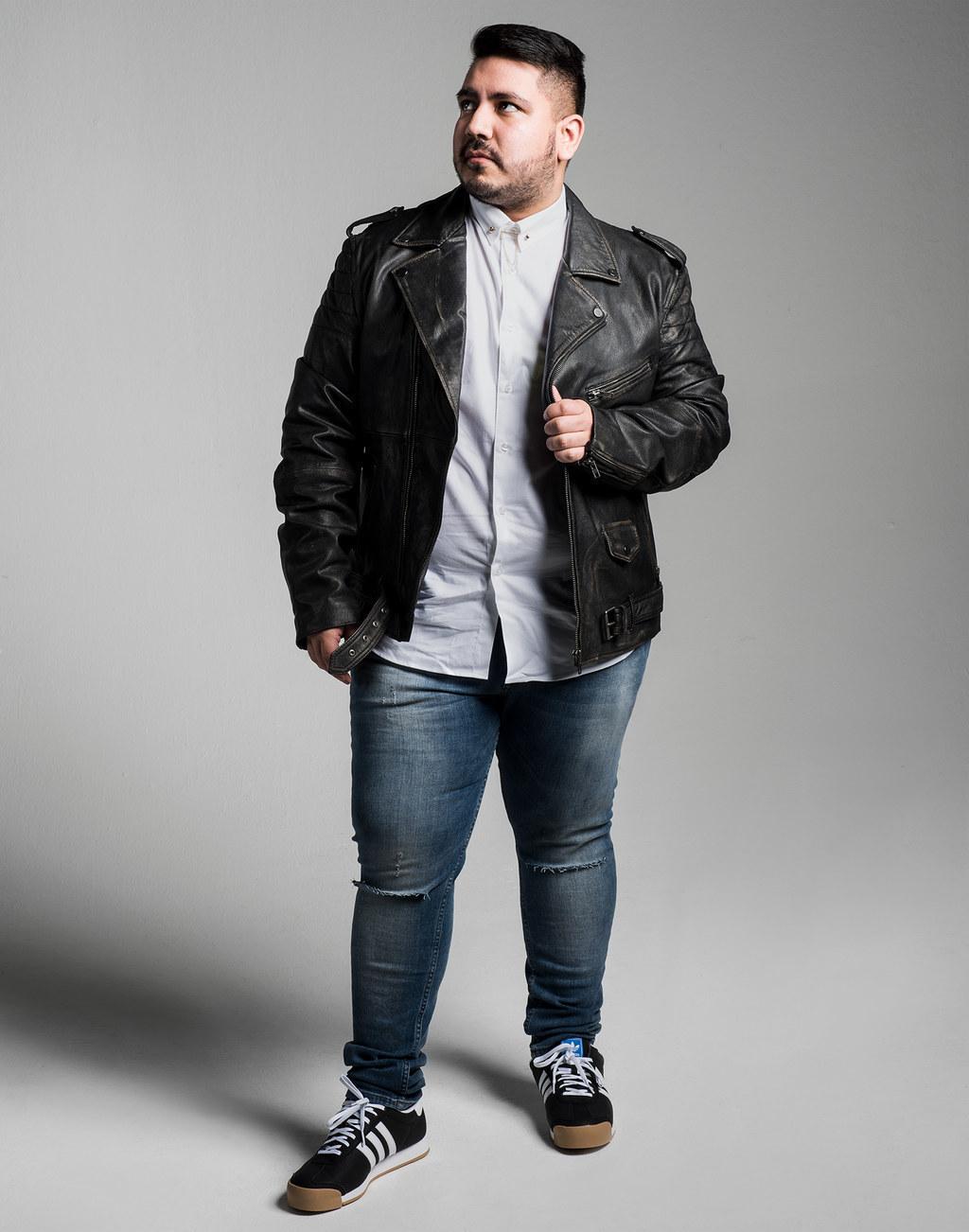 Men plus size fashion 62
