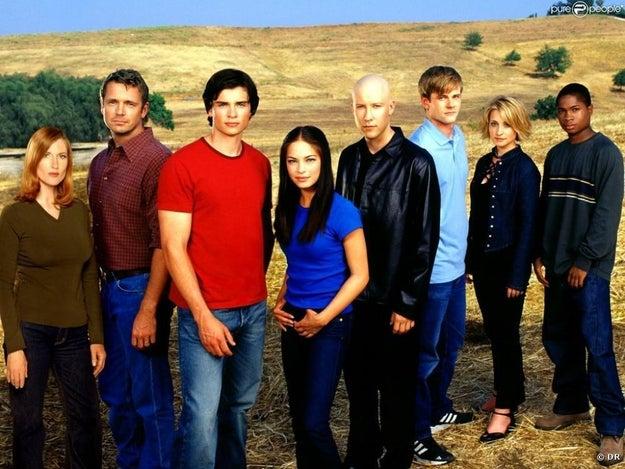 Smallville était l'une de vos séries préférées.