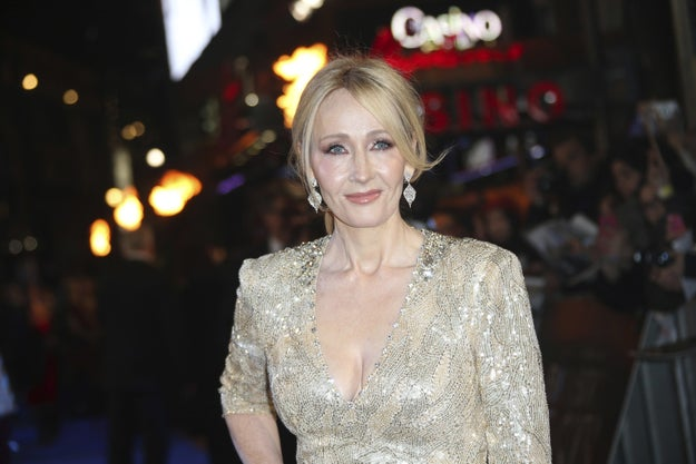 You don't need me to introduce you to J.K. Rowling, Queen of Harry Potter and also Twitter.