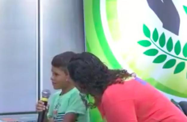 """A mãe ficou tipo: """"Sério que você tá falando isso menino????"""""""