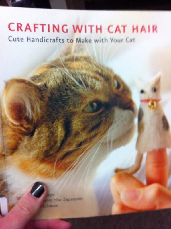 Ez a könyv körülbelül bütyköl macskaszőr.