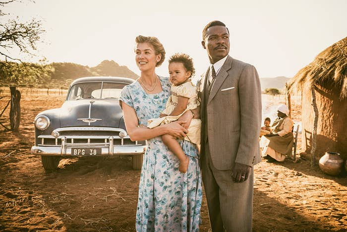 A promotional still from A United Kingdom.