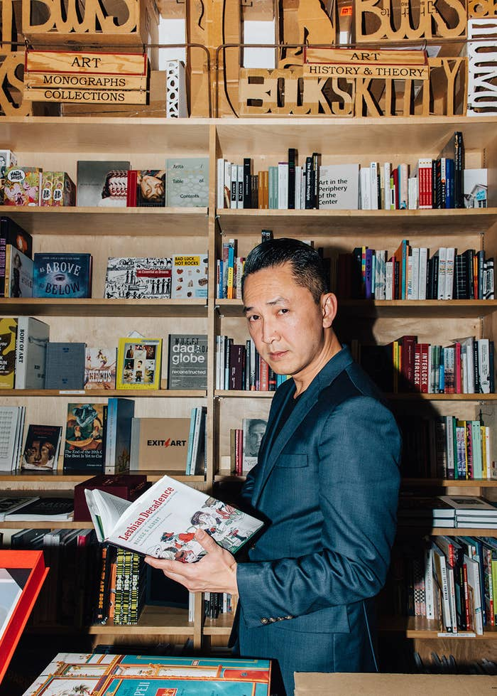 Nguyen at Skylight Books in Los Angeles.
