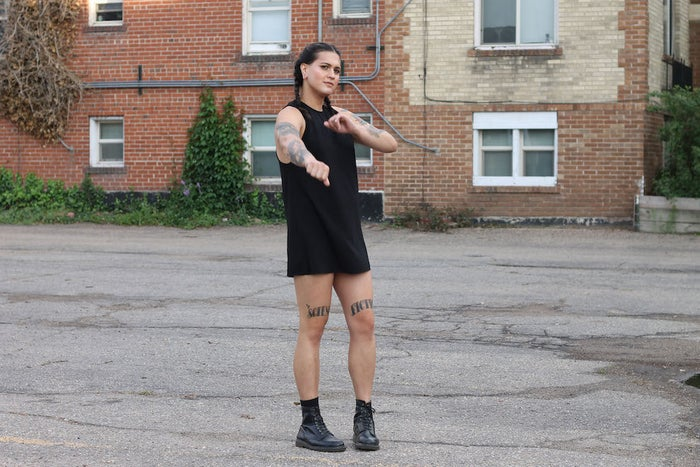 """The couple wanted to hear stories connected to identity, but also occasionally not. """"I wanted to help express other facets of trans people's identities,"""" said Soper.""""It felt important to showcase what makes us happy, what we do for fun, what our dreams are, who we love, and generally what we bring to the world,"""" added Case.""""We believed the stories needed to go beyond the binary and beyond people's bodies — because the trans community is so much more than their bodies."""""""