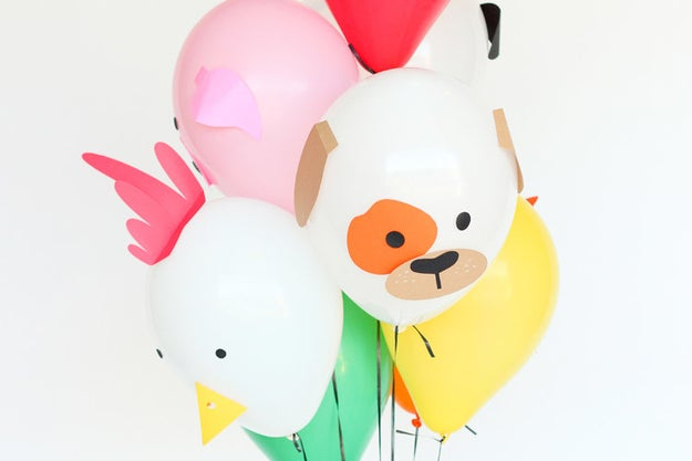 These freakin' adorable balloons because you don't really have a kid's birthday party in your planner.