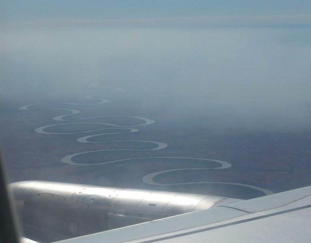 """This amazing river (someone might know it...?) somewhere between the UK and Australia."""