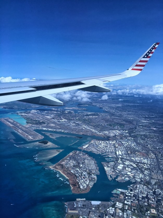 """Approaching Honolulu, Hawaii."""