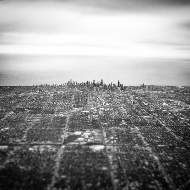 """Approaching Chicago."""