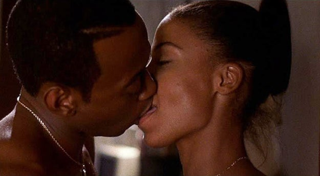 Monica and Quincey — Love & Basketball (2000)