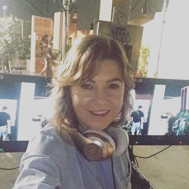 Ellen Pompeo got her directing on.