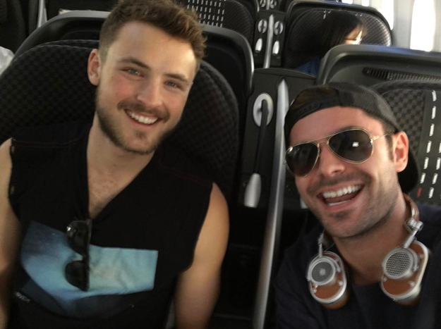 Zac Efron showed some love for his brother.