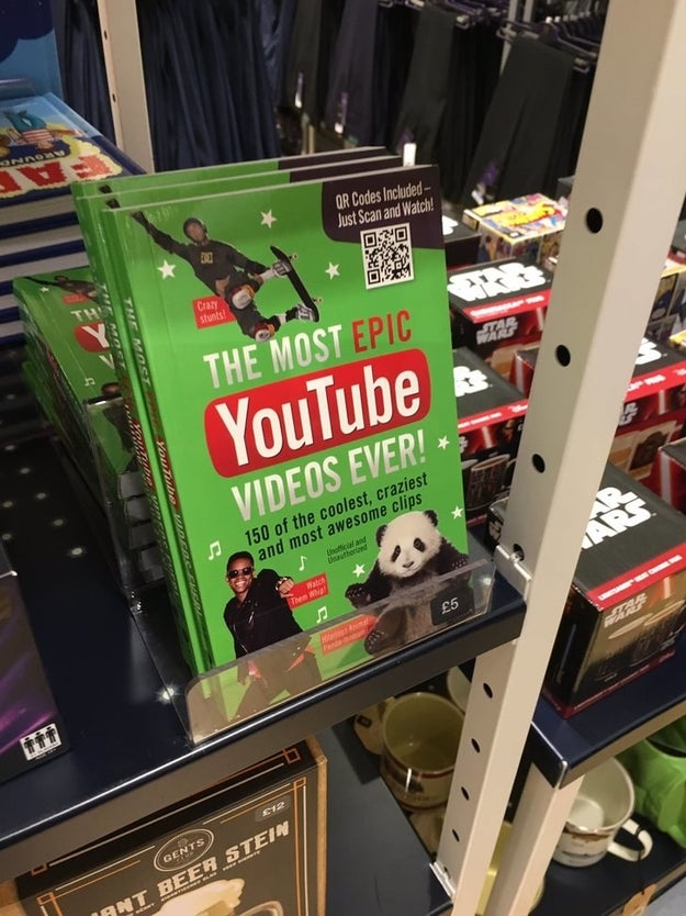 Este livro de vídeos do Youtube: