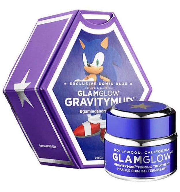 Esta máscara esfoliante do Sonic: