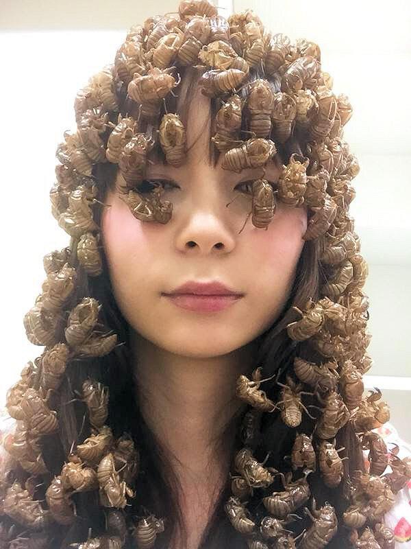 Gaya rambut macam apa ini?