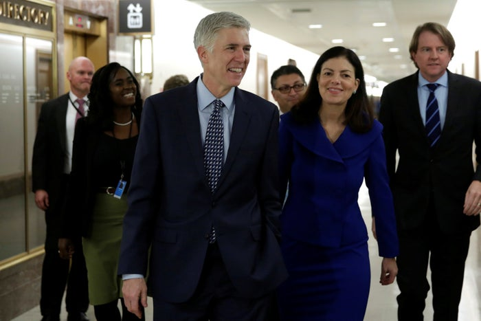 U.S. Supreme Court nominee Judge Neil Gorsuch