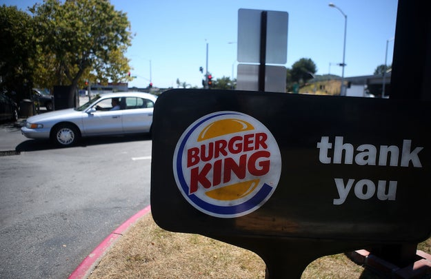A story about a guy's girlfriend using Burger King's Instagram page to catch him taking his side chick out went viral this week.