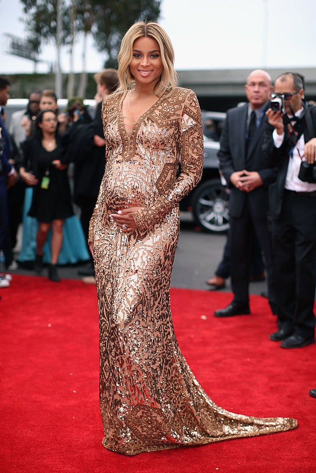 In short, Ciara rules, especially when she's carrying another human.