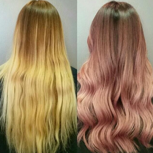 Have you ever seen such mesmerizing pink waves?