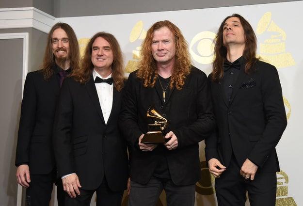 """Mejor interpretación de metal: """"Dystopia"""" de Megadeth"""