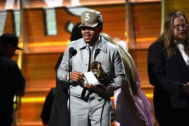 Mejor artista nuevo: Chance the Rapper
