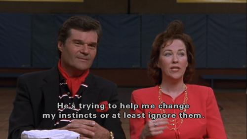 When Sheila Albertson described Ron's acting coaching technique.