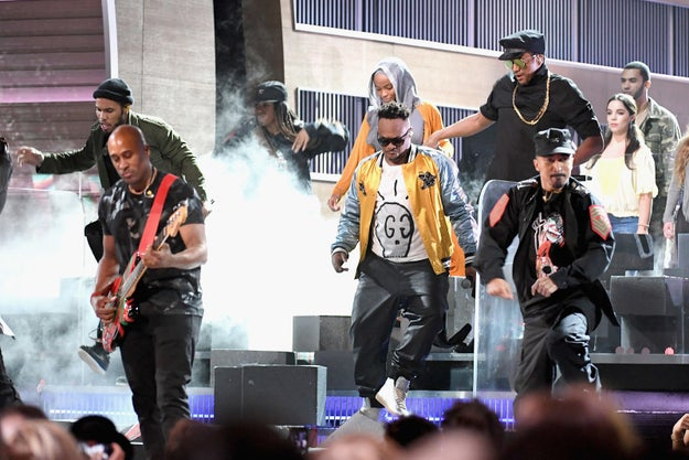 During the 2017 Grammys, A Tribe Called Quest performed a medley of the hip-hop group's songs, which also included a guest spot from Anderson .Paak.