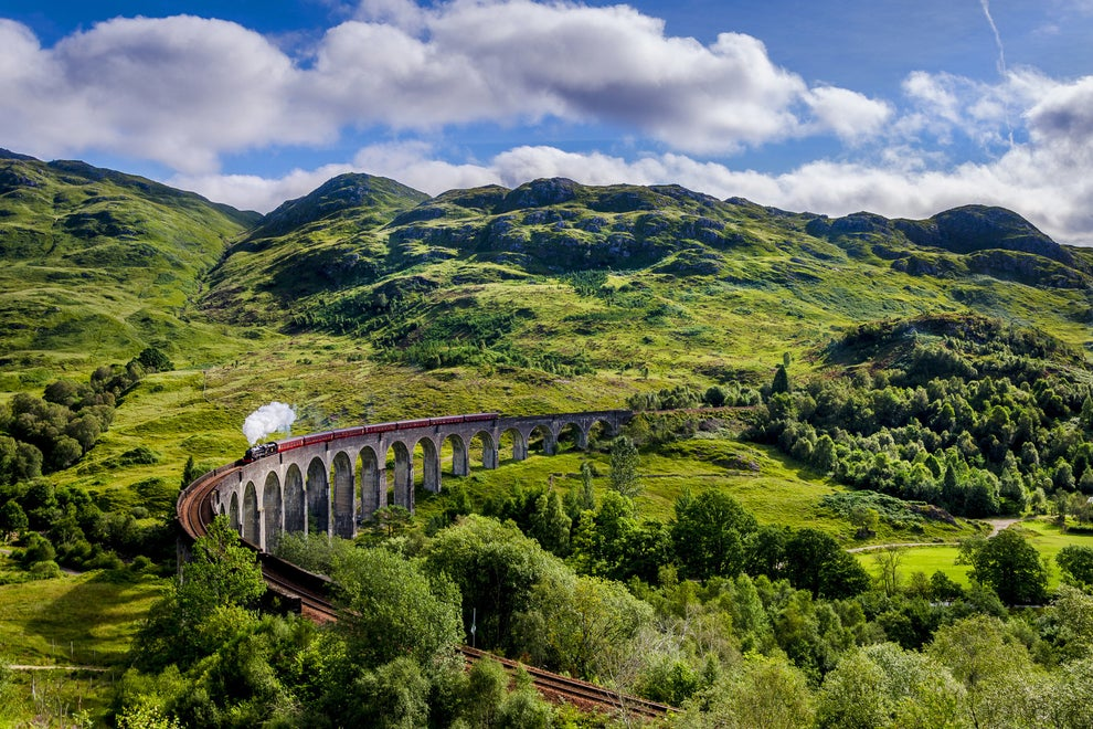 Oh, and the train from Glasgow to Mallaig is absolutely gorgeous.