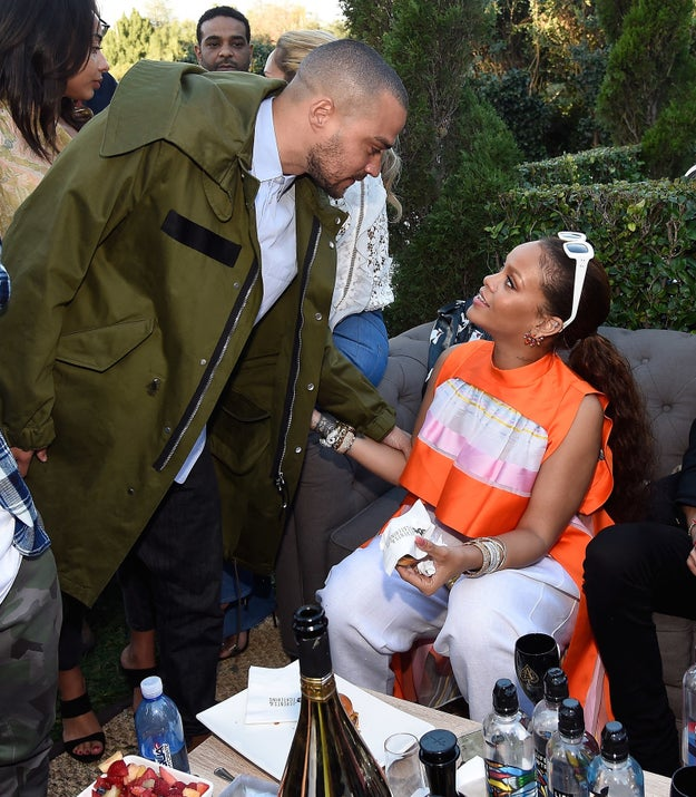 Rihanna and Jesse Williams looked at each other the way we wished they would look at us.
