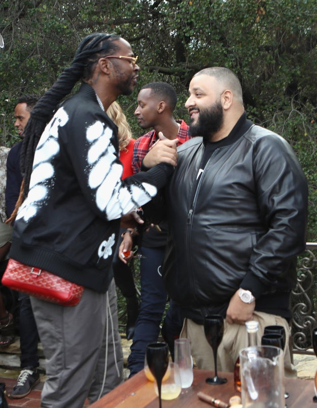 DJ Khaled actually put down his phone for a few minutes, and 2 Chainz wore a purse.