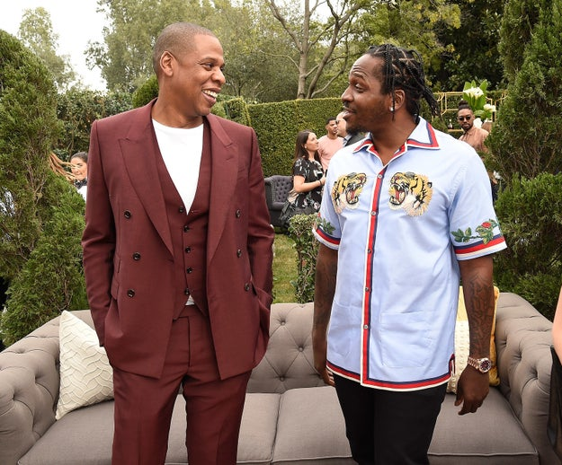 There was even a rare Pusha T sighting — although his GOOD Music partner, Kanye West, was notably missing.