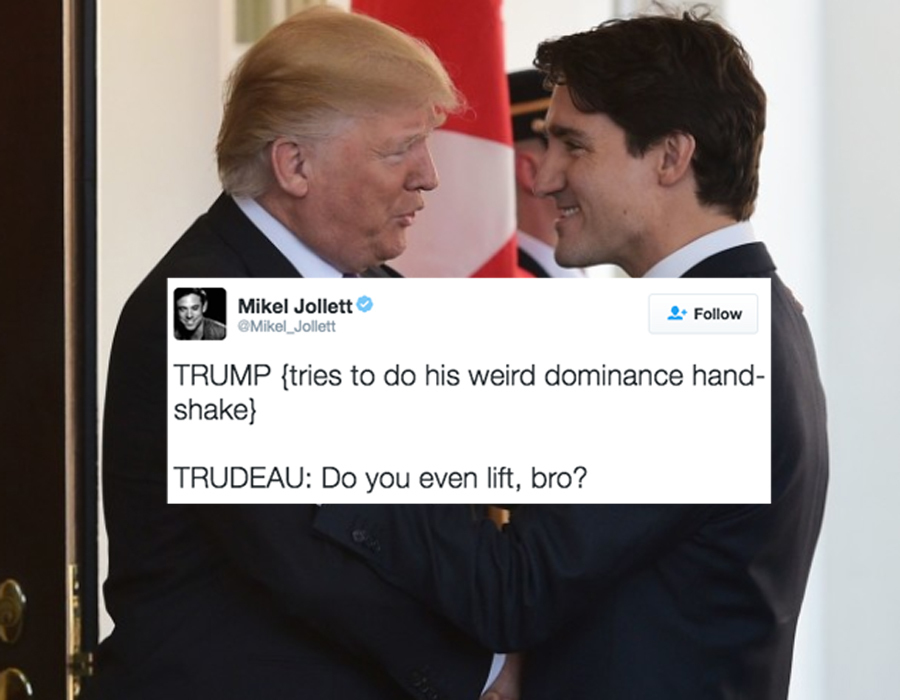 original 13658 1487012817 2?crop=900 471;064 trump and trudeau became an obama biden style meme, except much darker