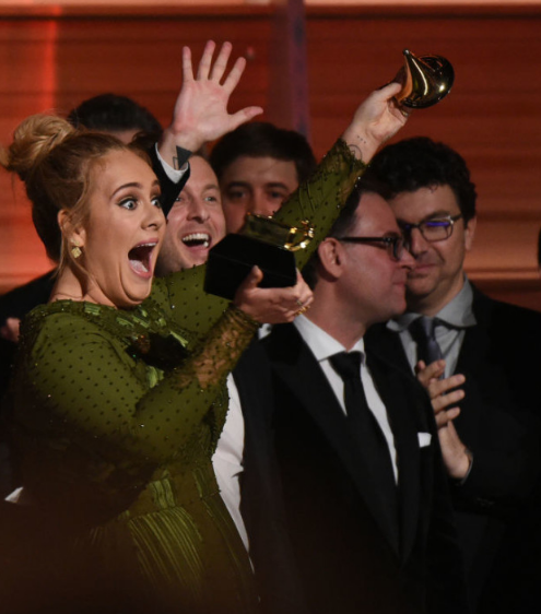 """What the fuck does she have to do to win Album of the Year?"" Adele said about Beyoncé."