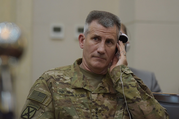 General Speaks Out On Afghanistan War >> The General Running The War In Afghanistan Wants 3 000 More Troops