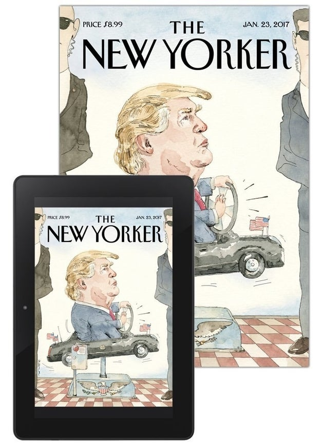 95% off a print and digital subscription to The New Yorker.
