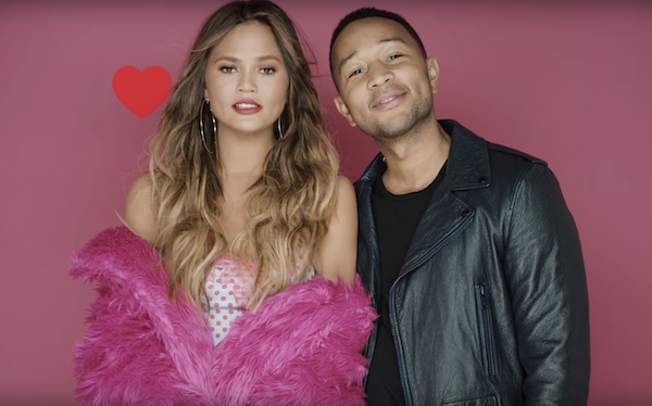 Seriously, this video is everything we'd expect to see from the couple we love so much: It's sexy, it's cute, it's playful, and it's super romantic.