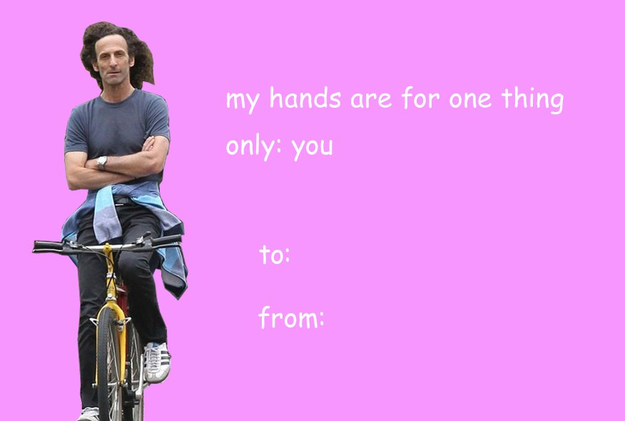 And, oh yes, this one is nice. It's perfect to send to your partner: