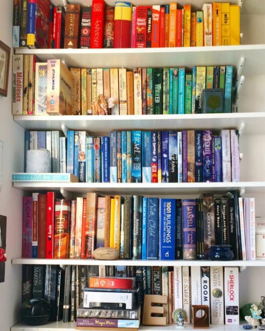 9 Organize Yourself A Readable Rainbow