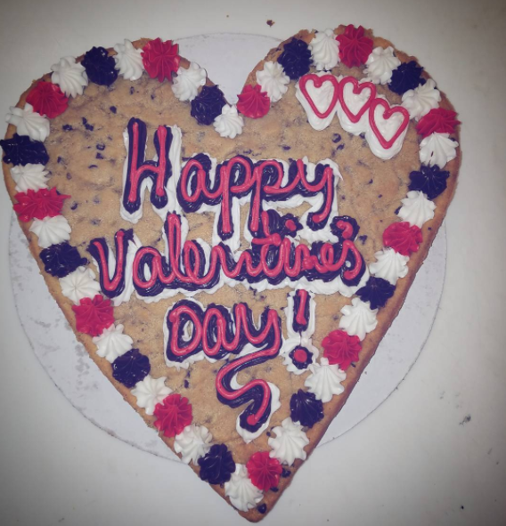 Instead of drowning your unrequited love in white wine, you got turnt on cookie cake.
