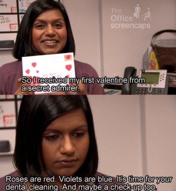 When Kelly's ~secret admirer~ sent her a valentine: