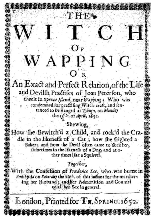 Joan Peterson, a Bruxa de Wapping:
