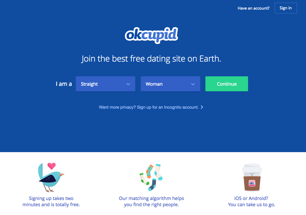 Okcupid compatibility test
