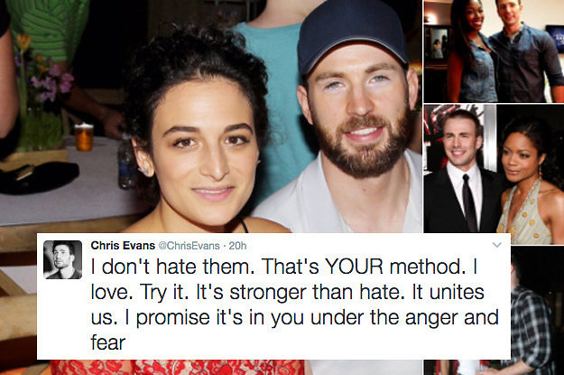 Chris Evans Has Been Fighting A White Supremacist On ...
