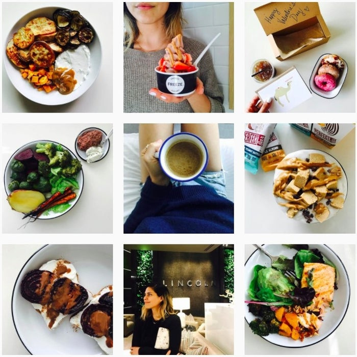 """@shutthekaleup is the candid healthy-eating, fitness- and yoga-loving account you need in your life. Come for the delicious looking superfood bowls, stay for the cute cameos of her little boy """"bub"""". Follow here."""