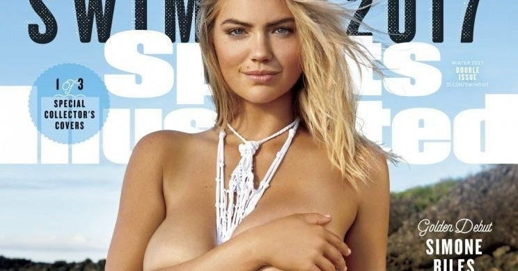 Kate Upton Is Topless On Sports Illustrateds Body Diversity Swimsuit Issue Cover