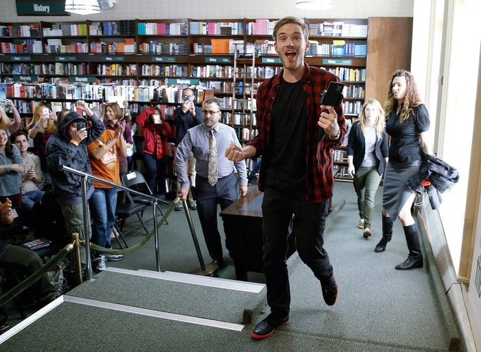 PewDiePie at Barnes & Noble Union Square on Oct. 29, 2015, in New York City.