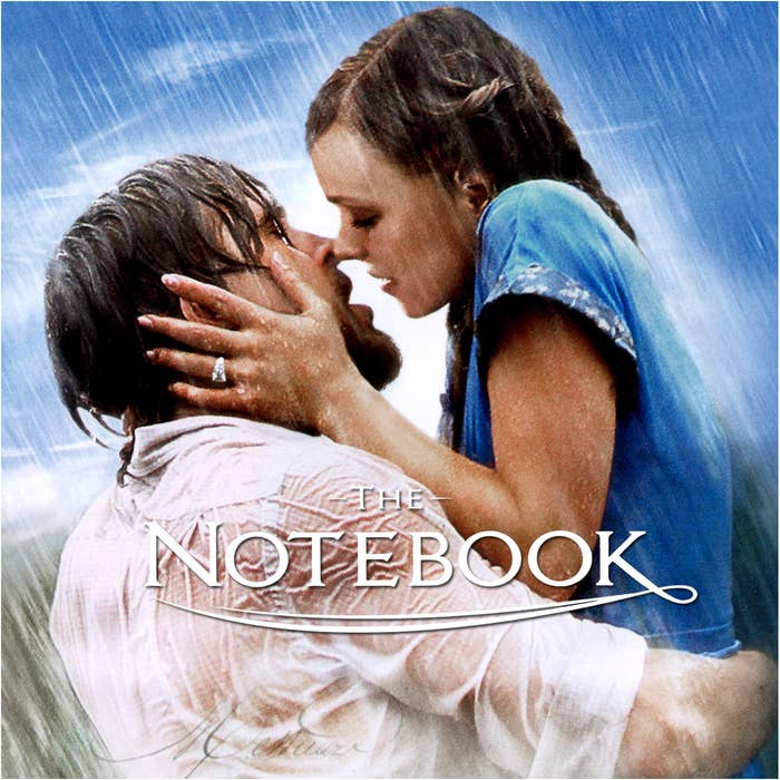 Yes, The Notebook is based on a Nicholas Sparks book, but the author has said that he wrote it about his wife's grandparents. Fun fact: The Bollywood film Zindagi Tere Naam is also based on Sparks' novel.
