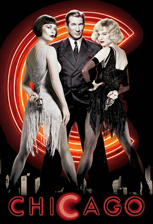The 2002 film Chicago was based on a musical from the 1970s, which was adapted from a 1926 play. That play was about the true story of a woman, Beulah Annan (whose name was changed to Roxie Hart for the films), who murdered her boyfriend. There was also a silent film adaptation of the play, released in 1927.Fun fact: The play was written by Maurine Dallas Watkins as a class assignment for Yale Drama School.