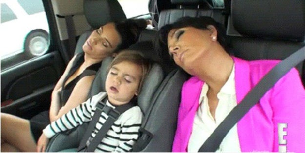 Kim Kardashian, Kris Jenner, and Mason Disick