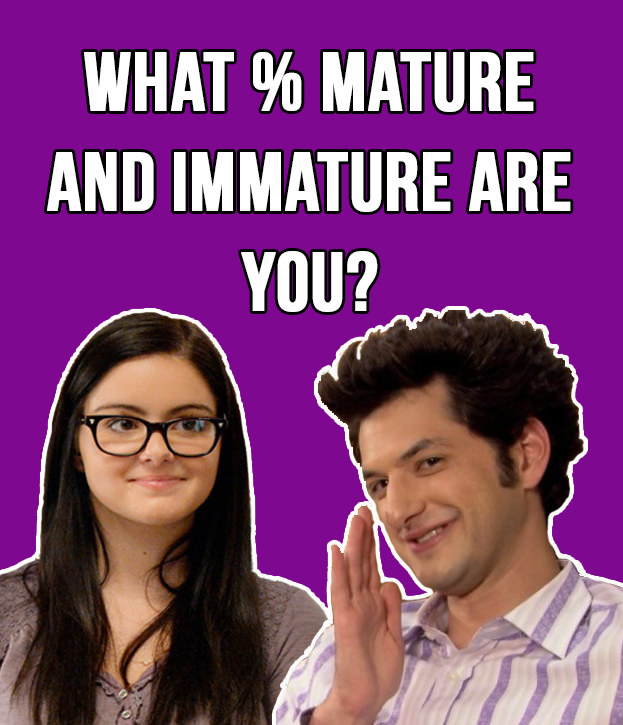 What is my maturity age quiz